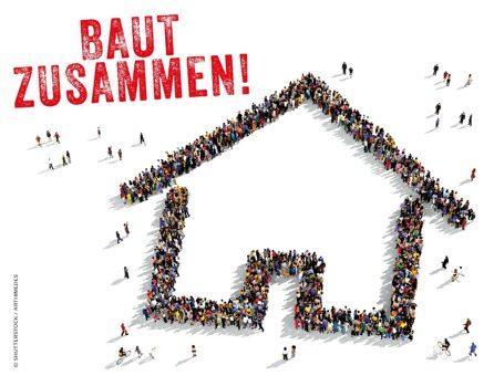 Logo Kontaktboerse Baugemeinschaften Hauptlogo