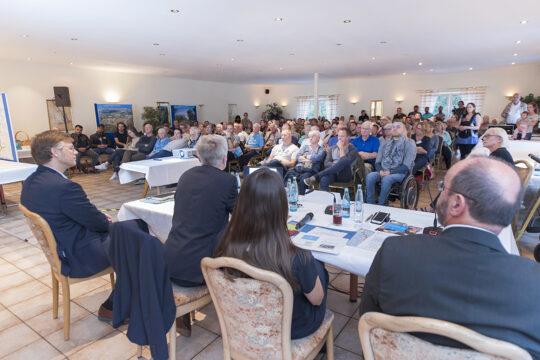 Projektdialog Georgswerder; Foto: IBA Hamburg GmbH / Axel Nordmeier