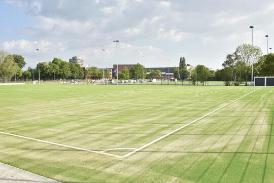 Sportplatz Dratelnstrasse; IBA Hamburg GmbH / Martin Kunze
