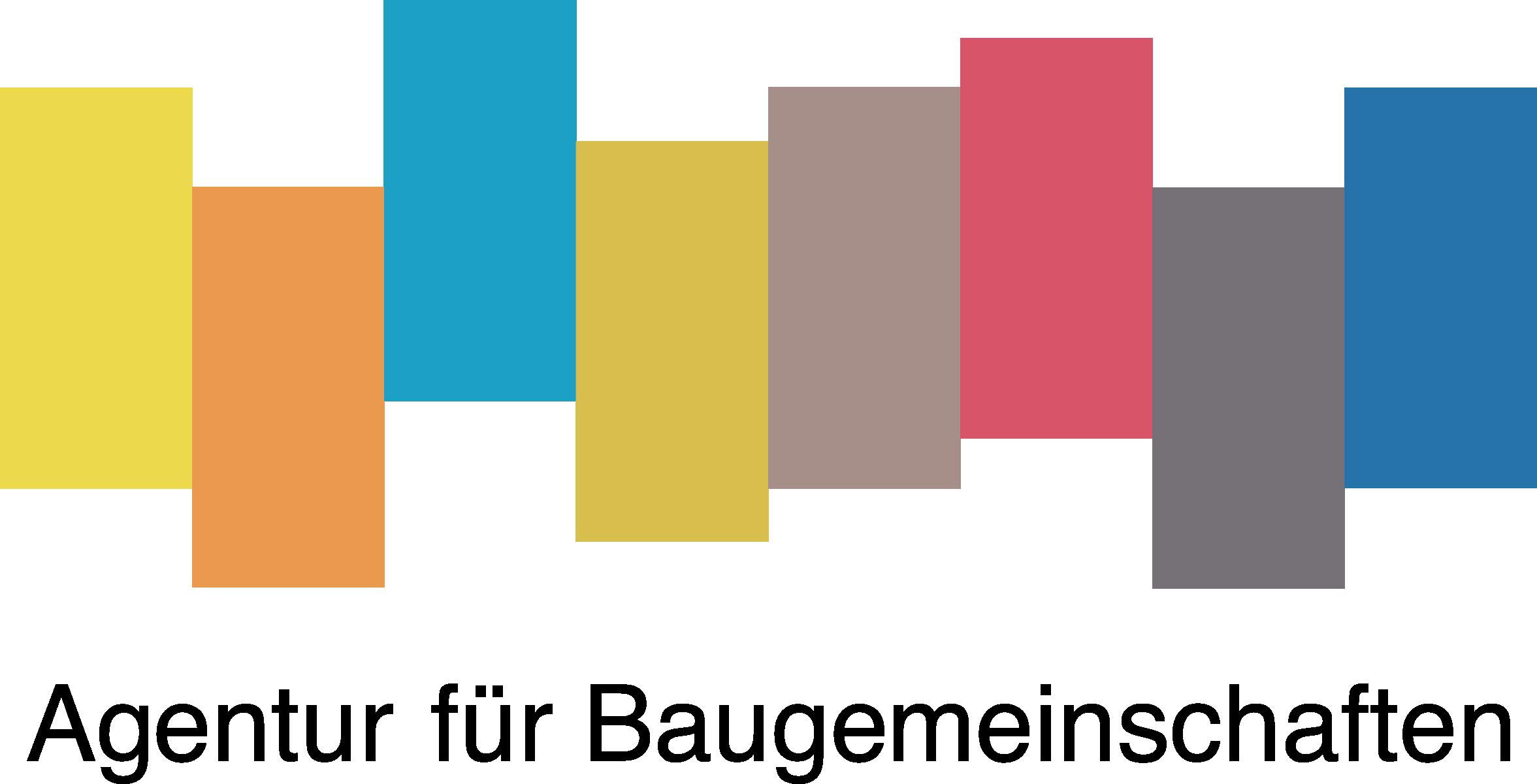 Logo Agentur fuer Baugemeinschaften CMYK positiv