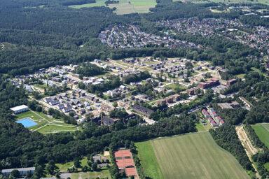 Fischbeker Heidbrook: Aerial view, July 2019