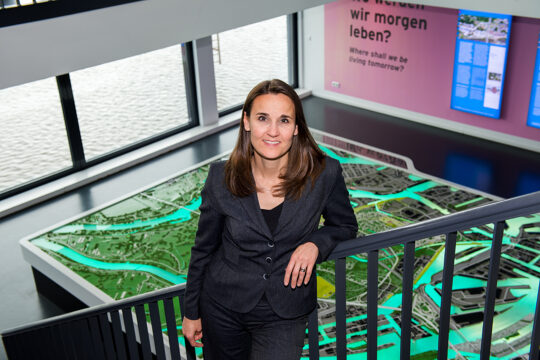 Geschäftsführerin Karen Pein 2015