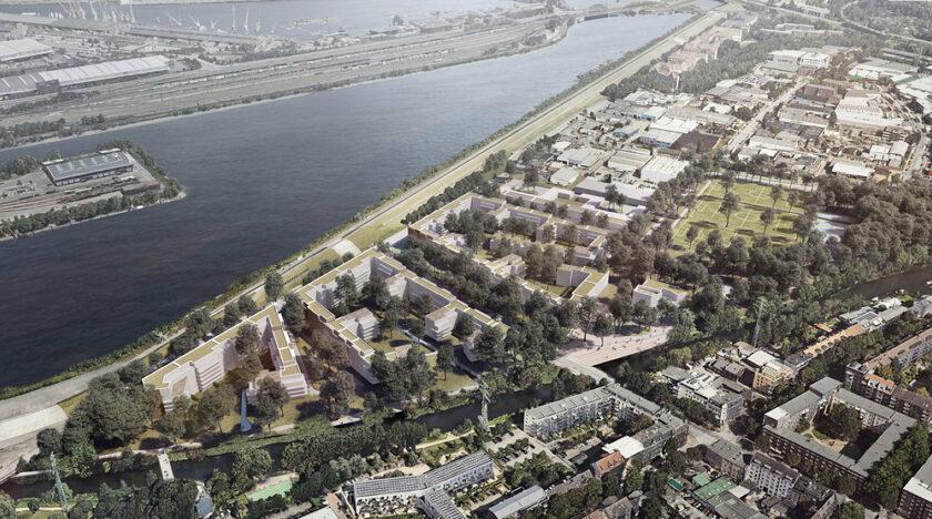 Credits: IBA Ha mburg / BIWERMAU Architekten mit WES LandschaftsArchitektur