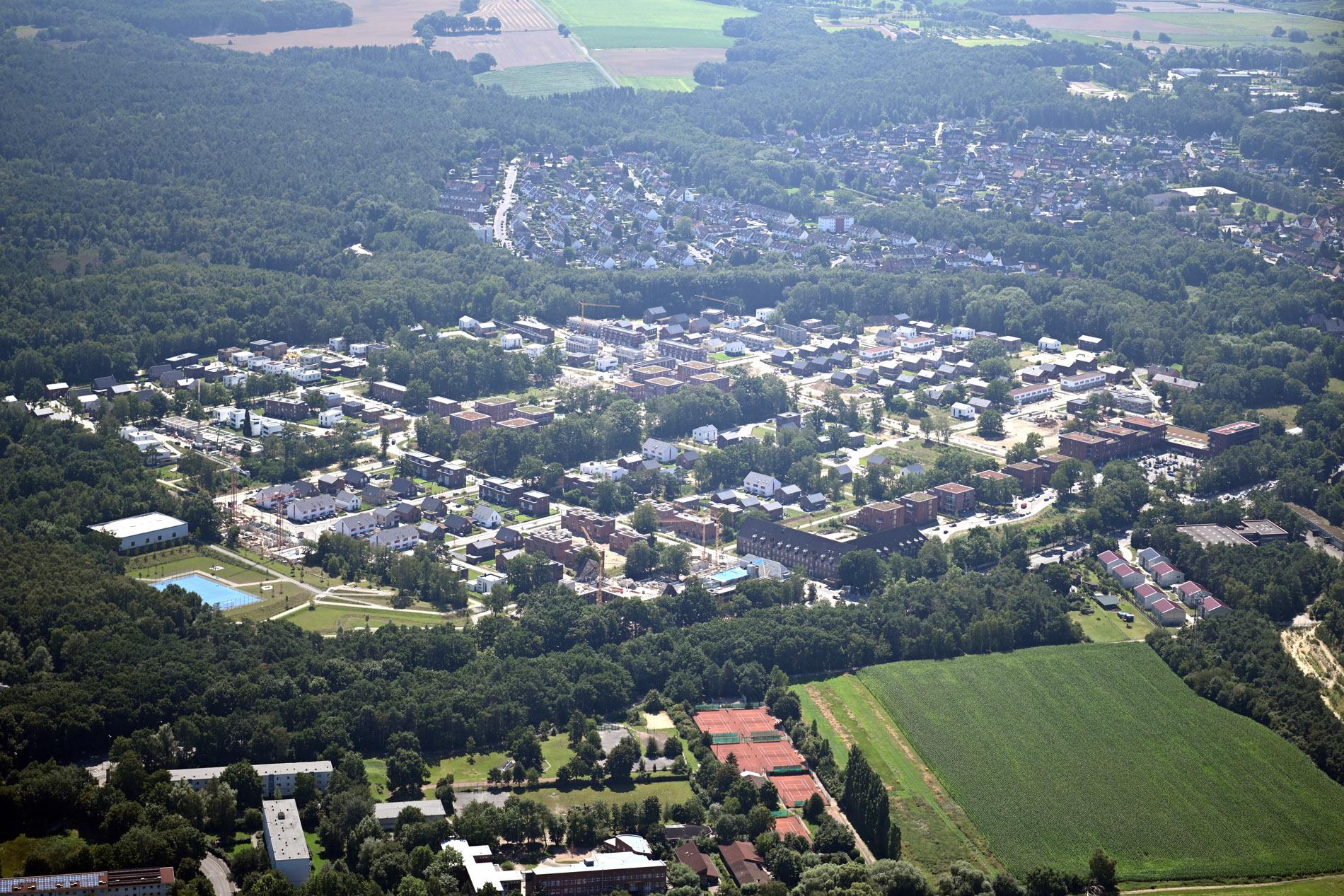 Luftbild Heidbrook