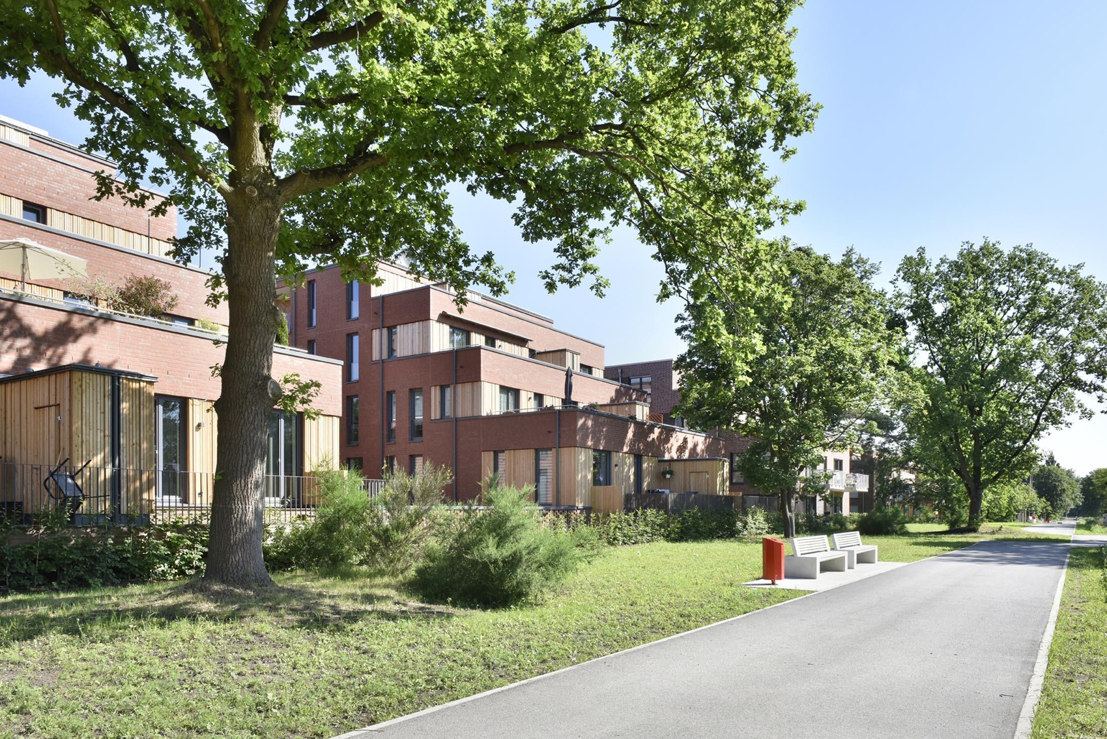 IBA Hamburg GmbH / Martin Kunze; Mehrfamilienhaueser Fischbeker Heidbrook