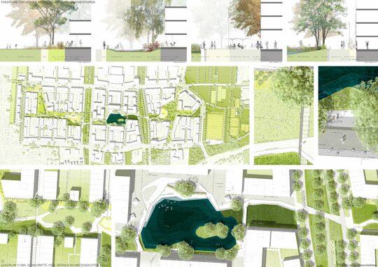 Wettbewerbsentwurf Relais Landschaftsarchitekten