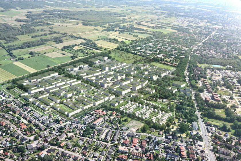 Quartiersvisualisierung Fischbeker Reethen bloomimages IBA Hamburg