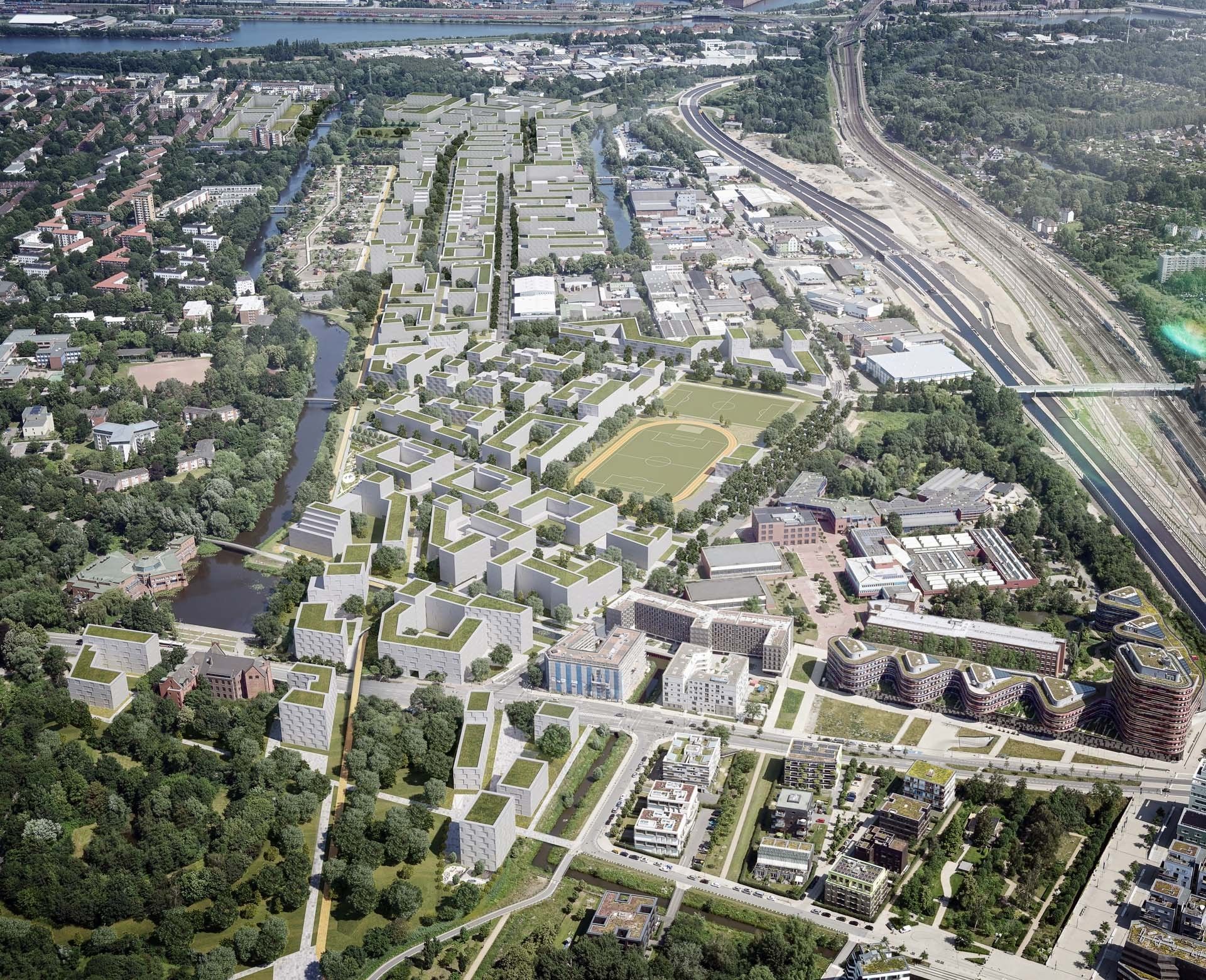 IBA Hamburg GmbH / mokka studios; Kartengrundlage: Falcon Crest Air