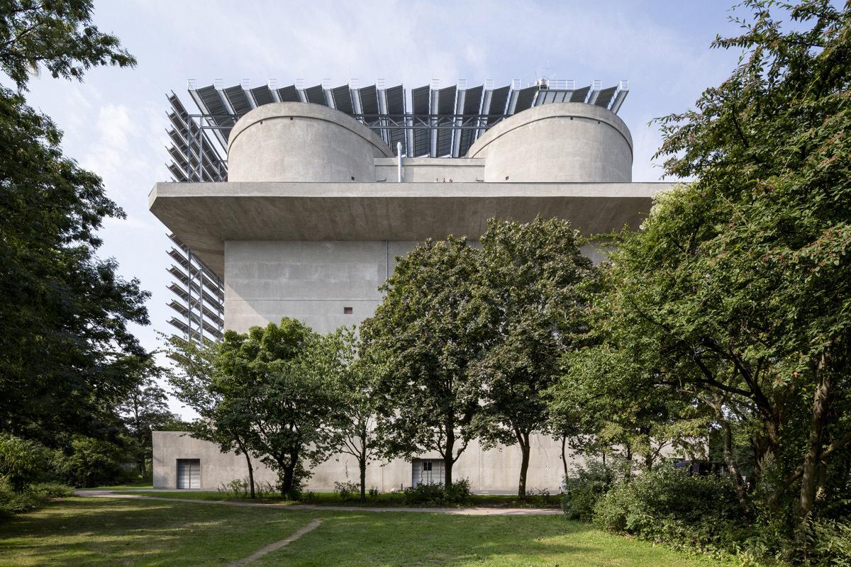 Energiebunker Foto: IBA Hamburg / Bernadette Grimmenstein