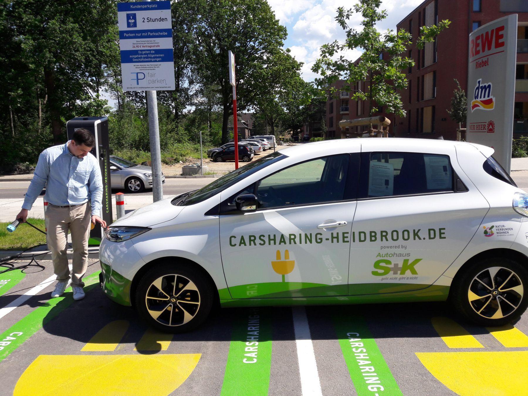 Car Sharing Naturverbunden Wohnen
