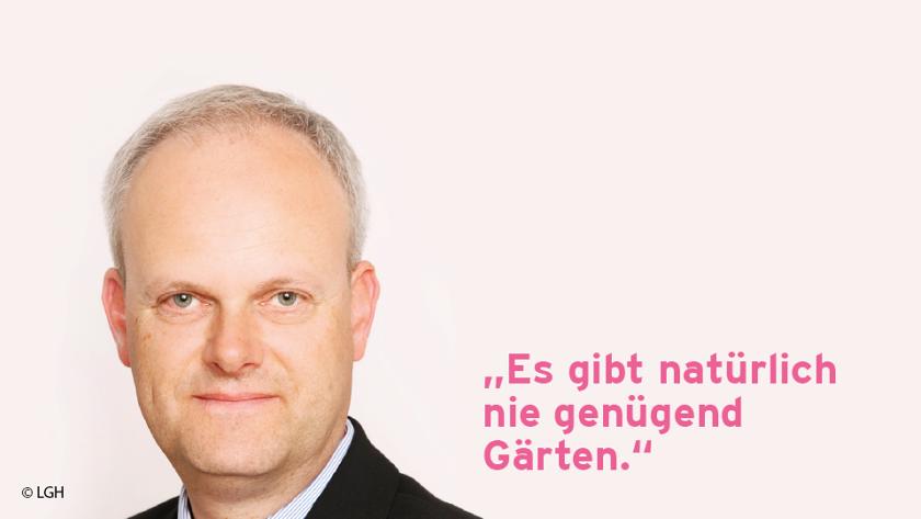 Dirk Sielmann, Landesbund der Gartenfreunde Hamburg